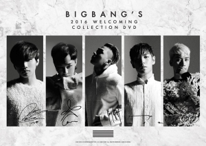 BIGBANG 2016 Welcoming Collection DVD (Limited Edition)